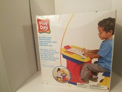 *Brand New* Play Day Desk And Easel For Your Toddler  - Easel For Toddler