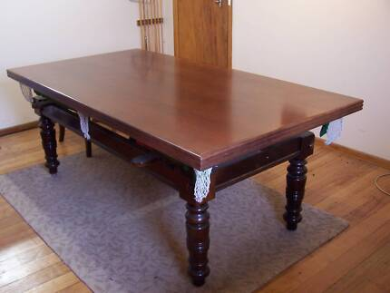 7ft Slate Pool / Billiard / Dining Table - Blackwood top cover Henrietta Waratah Area Preview