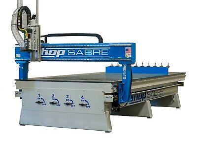 American Made Cnc Router - New Shopsabre Cnc Pro-408 Production Router System