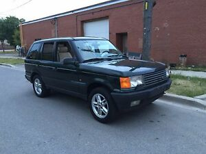 Range Rover Land Rover 4x4 p38 truck  HSE