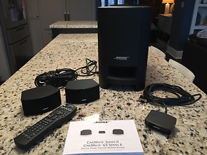 Bose CineMate GS Series ll - Digital Home Theater Speaker System