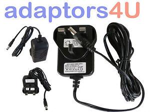 Pure One/Chronos DAB Radio 9V Charger AC-DC Switching Adaptor Power Supply UK