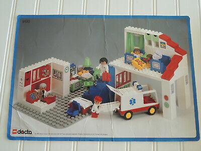 Lego Dacta Duplo MEDICAL CENTER Hospital 9180 Vintage RARE 95% Complete