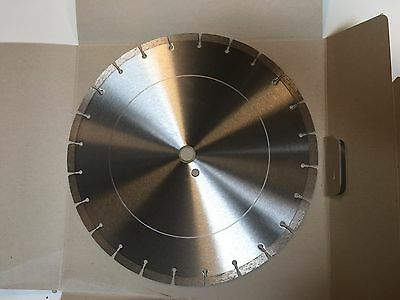 - 14-Inch Dry or Wet Cutting Segmented Saw Blade  for Concrete and Brick/ 1