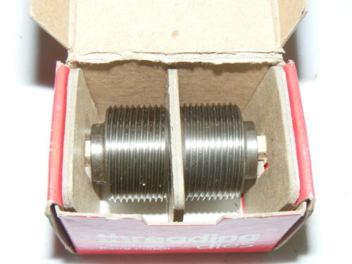 Reed Thread Roll Rolling Dies M10X1.50 ISO - NICE CONDITON - READ