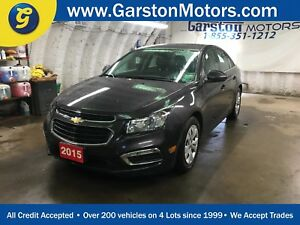 2015 Chevrolet Cruze LT*TUBRO*BACK UP CAMERA*KEYLESS ENTRY w/REM