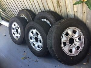 4x4 wheels ATs (hilux, patrol, 6 stud cars) Brookfield Brisbane North West Preview