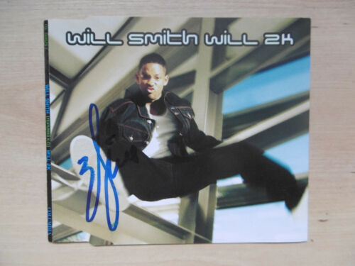 """Will Smith Autogramm signed CD-Cover """"Will 2K"""""""