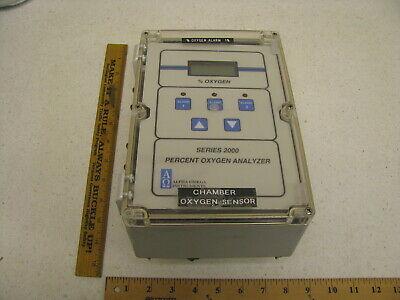 Alpha Omega Instruments Percent Oxygen Analyzer Sensor -series 2000