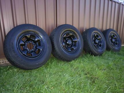 Toyota 4WD Wheels [set of 4 ] to suit  Prado , Hilux North Rocks The Hills District Preview
