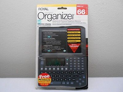 Royal Personal Organizer (DM80ex) 256 KB Business and Personal Phone Memory