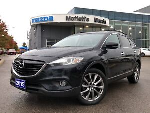 2015 Mazda CX-9 GT AWD LEATHER, SUNROOF, BOSE, GPS, POWER GATE