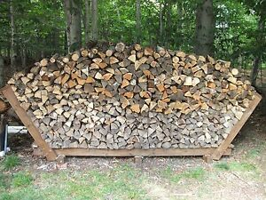 Details about Firewood Storage Rack Building Plans
