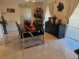 Dining Table, chairs & Buffet unit