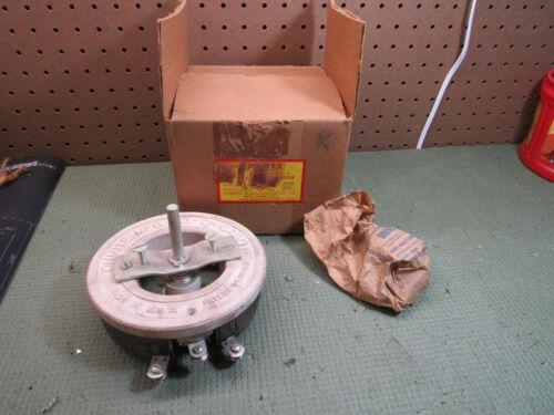 NOS Ohmite 0658 Model N Ser A Vitreous Rheostat Potentiometer 300 Watt 25 OHM