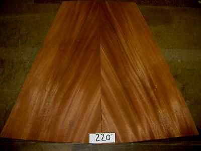 Exotic Wood Veneer - Quartered Mahogany 220