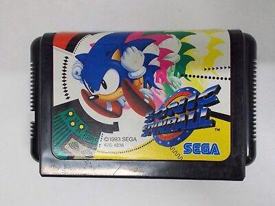 Mega-Drive Genesis -- SONIC SPINBALL -- JAPAN GAME. SEGA. Works fully!! 13832