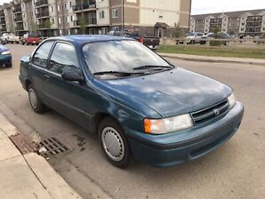1993 Toyota Tercel DX  **low kms**