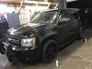 2012 Chevrolet Tahoe Black On Black