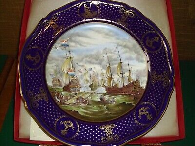 winters day Working Horses Danbury Mint,Wedgwood of Etruria Vintage Decorative Plate