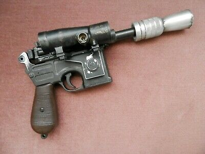 Star Wars TESB DL-44 blaster Luke Bespin 1/1 scale all metal prop replica