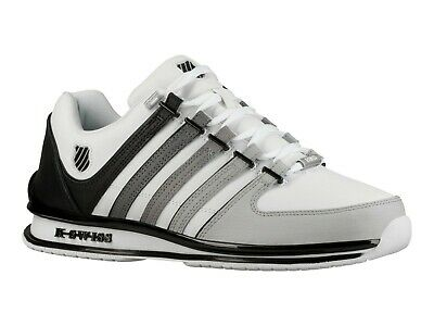 K Swiss Rinzler Trainers - White/Black/Gradient 02283 - 118 SIZE 9 ONLY RRP £75