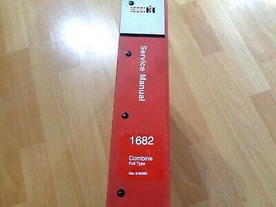 Case Ih 1682 Pull Type Combine Service Repair Manual Oem