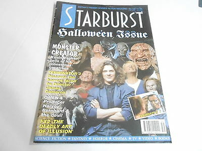 #159 STARBURST science fiction tv magazine HALLOWEEN ISSUE - MONSTER CREATOR](Science Fiction Halloween)