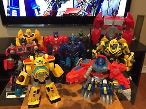 Transformers Toy Figure Lot of 9 for $20 Total
