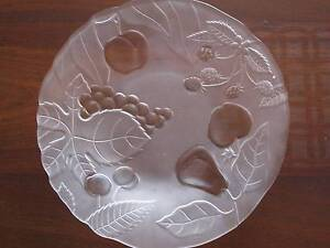 GLASS DISHES/PLATTERS/BOWLS - TWO FOR $15.00 bargain Noranda Bayswater Area Preview