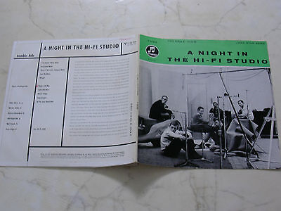 "10"" TREMBLE KIDS A Night In The Hi-Fi Studio *1958*feat. PETER GIGER;KLEIN"