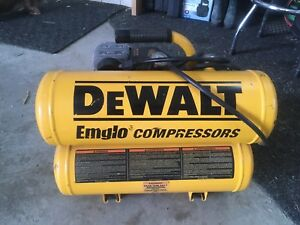 Compresseur air Dewalt 2hp 4 gal.