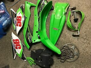 KawasakiKx250f plastics and parts 2017 2016