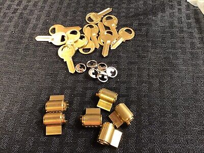 Master 294kzw1 Rekeyable Padlokc Cylinders O Bitted W Plug Extension 6qty
