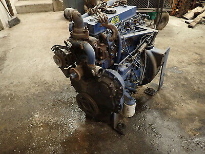 Perkins 4.41 Diesel Engine Runs Exc Rare Lm 4.1 1004 4-41 236 Massey Tractor