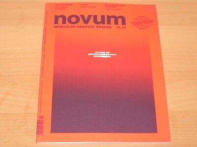 Novum - World of Graphic Design Ausgabe 11/2017 Neuwertig!