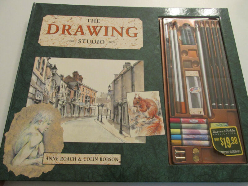 Barnes & Noble The Drawing Studio Art Instruction Book and Supplies