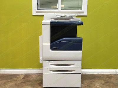 Xerox Workcentre 7220 Laser Color Bw Printer Scanner Copier 20ppm A3 Mfp 50k