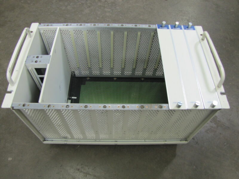 PROTEON PLC CARD RACK CHASSIS P9010-10 P901010 REV F