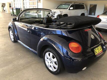 Volkswagen Beetle convertible 2004 leather