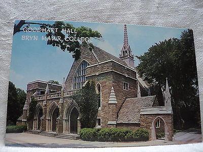 Bryn Mawr Pa Pennsylvania College Goodhart Hall Postcard