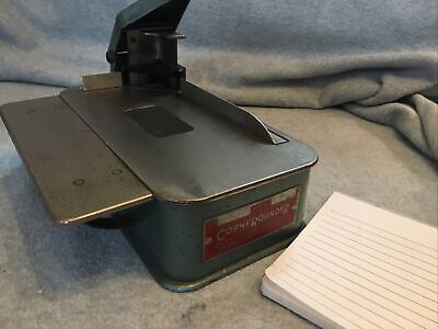Lassco Model 20 Corner Rounder Cutter 14 Die Tested And Working