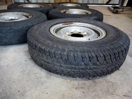 5 Tyres on Rims Collie Collie Area Preview