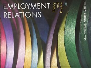 Employment Relations Theory and Practice Chipping Norton Liverpool Area Preview