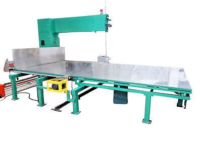 Automatic Vertical Foam Cutting Slitter Band Saw Cutter Machine With Ab Plc