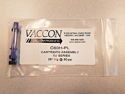 C60h-pl Vaccon Cartridge Assembly 20 Hg
