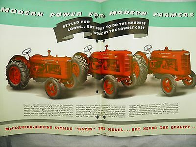 Brochure Leaflet Tracteur Tractor Massey Ferguson MF 128 130 8 pages