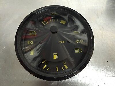 PORSCHE 944 FUEL LEVEL / TEMPERATURE GUAGE / DIAL 82-85