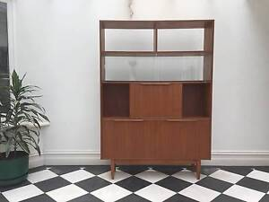 Vintage mid-century wall unit / cocktail cabinet Danish style Fitzroy Yarra Area Preview