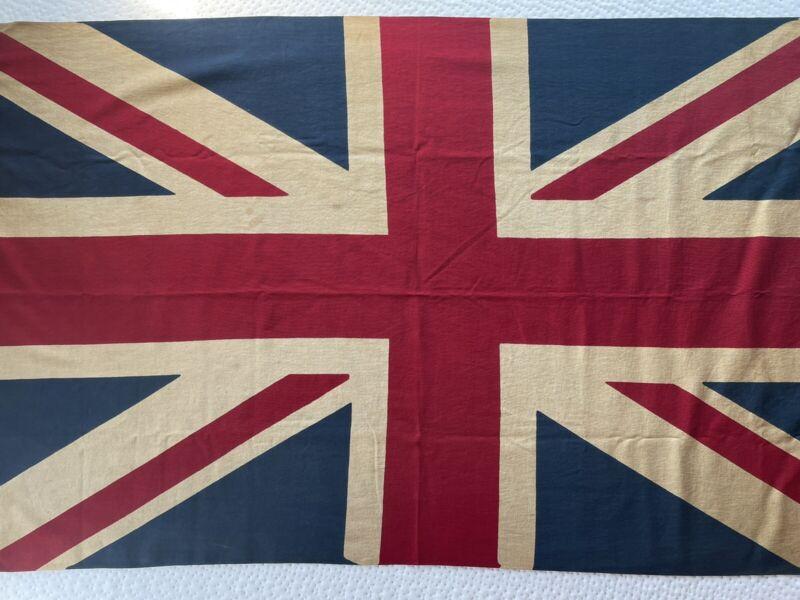 Union Jack Flag Antique Pre-WW2